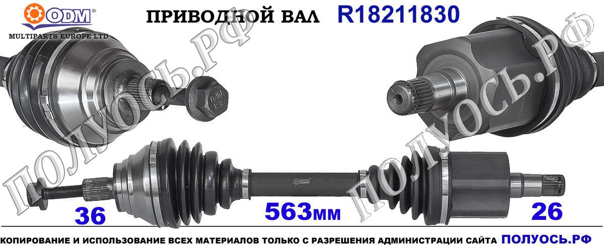 Приводной вал VW 5N0407761P,5N0407761PX,5N0407763C,5N0407763CX,5N0407763J,18211830
